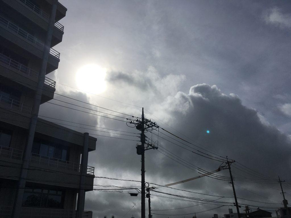 台風も過ぎ去り… 本日も営業中