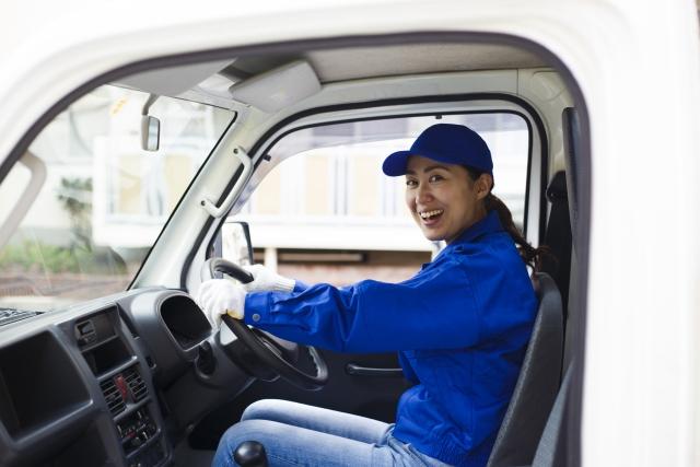 建設資材会社での配送業務